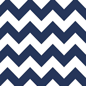 FQ Single - Chevron Navy