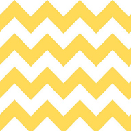"Riley Blake Medium Chevron Yellow - 16"" Remnant"
