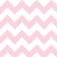 "Riley Blake Medium Chevron Baby Pink - 14"" Remnant"