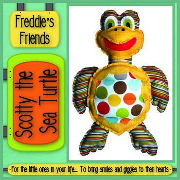 Pattern - Scotty Sea Turtle by Freddies Friends