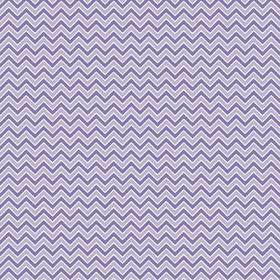 FQ Single - Alpine Chevron Purple Flannel