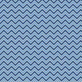 "Alpine Chevron Medium Blue Flannel - 21"" Remnant"