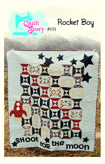 Pattern - Rocket Boy by Quilt Story
